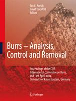 Burrs - Analysis, Control and Removal