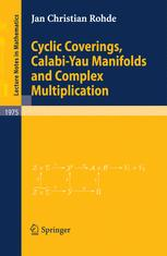 Cyclic Coverings, Calabi-Yau Manifolds and Complex Multiplication