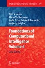 Foundations of Computational, IntelligenceVolume 6