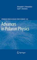Advances in Polaron Physics