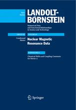 Nuclear Magnetic Resonance Data
