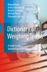 Dictionary of Weighing Terms
