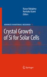 Crystal Growth of Si for Solar Cells