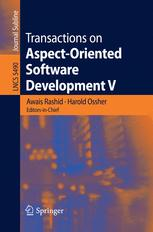 Transactions on Aspect-Oriented Software Development V