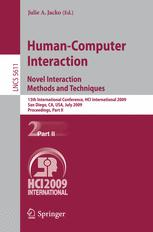 Human-Computer Interaction. Novel Interaction Methods and Techniques