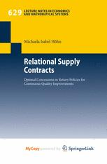 Relational Supply Contracts