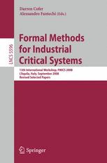Formal Methods for Industrial Critical Systems