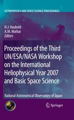Proceedings of the Third UN/ESA/NASA Workshop on the International Heliophysical Year 2007 and Basic Space Science
