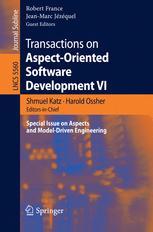 Transactions on Aspect-Oriented Software Development VI