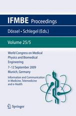 World Congress on Medical Physics and Biomedical Engineering, September 7 - 12, 2009, Munich, Germany