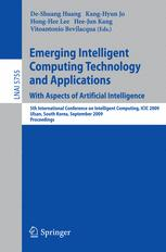 Emerging Intelligent Computing Technology and Applications. With Aspects of Artificial Intelligence