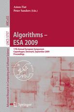 Algorithms - ESA 2009