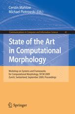 State of the Art in Computational Morphology