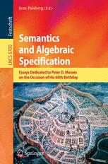 Semantics and Algebraic Specification