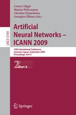 Artificial Neural Networks – ICANN 2009