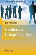 Frontiers in Entrepreneurship