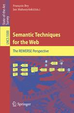 Semantic Techniques for the Web