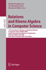 Relations and Kleene Algebra in Computer Science