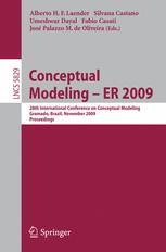 Conceptual Modeling - ER 2009