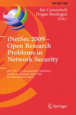 iNetSec 2009 – Open Research Problems in Network Security