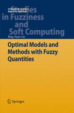 Optimal Models and Methods with Fuzzy Quantities
