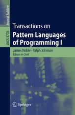 Transactions on Pattern Languages of Programming I