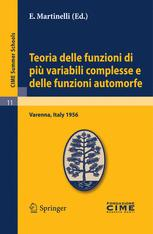 Teoria delle funzioni di più variabili complesse e delle funzioni automorfe