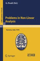 Problems in Non-Linear Analysis