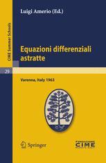 Equazioni differenziali astratte