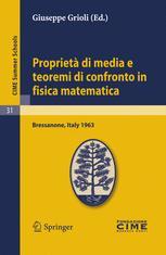 Proprietà di media e teoremi di confronto in fisica matematica