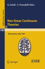 Non-linear Continuum Theories