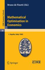 Mathematical Optimiation in Economics