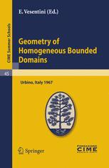 Geometry of Homogeneous Bounded Domains