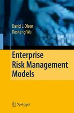 Enterprise Risk Management Models