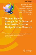 Human Benefit through the Diffusion of Information Systems Design Science Research