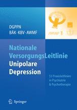 S3 Praxisleitlinien in Psychiatrie und Psychotherapie