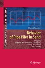 Behavior of Pipe Piles in Sand