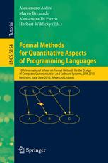 Formal Methods for Quantitative Aspects of Programming Languages