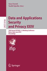 Data and Applications Security and Privacy XXIV