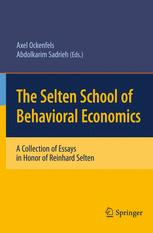 The Selten School of Behavioral Economics