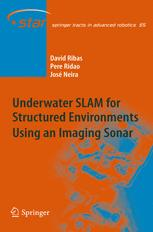 Underwater SLAM for Structured Environments Using an Imaging Sonar