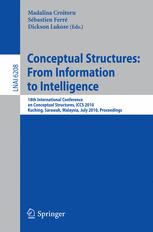 Conceptual Structures: From Information to Intelligence