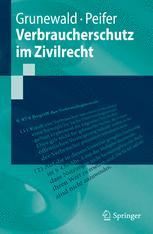 Verbraucherschutz im Zivilrecht