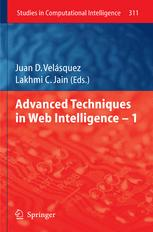 Advanced Techniques in Web Intelligence - I