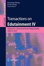 Transactions on Edutainment IV