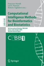 Computational Intelligence Methods for Bioinformatics and Biostatistics