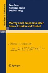Morrey and Campanato Meet Besov, Lizorkin and Triebel