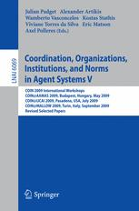 Coordination, Organizations, Institutions and Norms in Agent Systems V