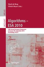 Algorithms – ESA 2010