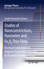 Studies of Nanoconstrictions, Nanowires and Fe₃O₄ Thin Films